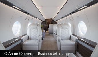 Anton Cherenko Business Jet Interior